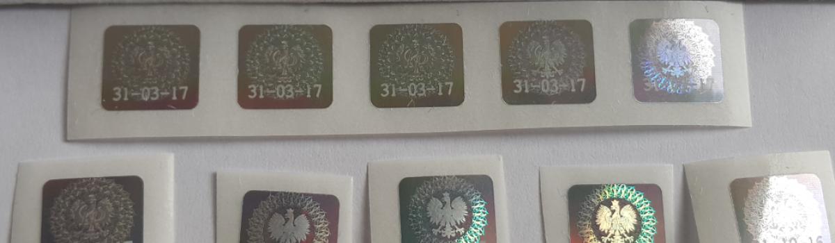 Oryginalne hologramy na ELS na 31.03.17 Warszawa – sprzedaż kolekcjonerska