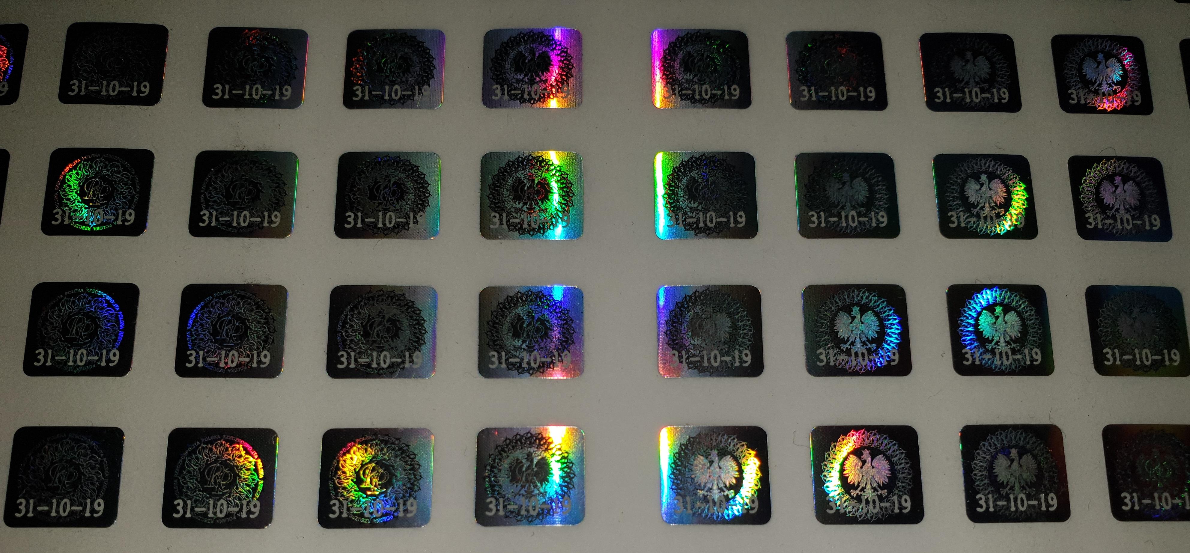 Najnowsze hologramy kolekcjonerskie 31-10-2019 już w sprzedaży!